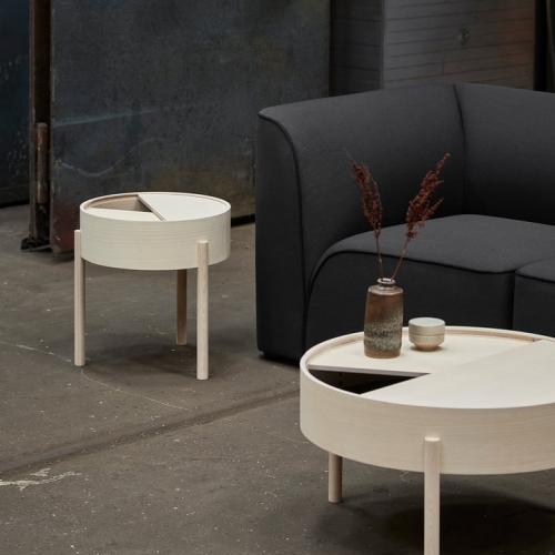 Кофейный столик   из массива дуба и фанеры-1