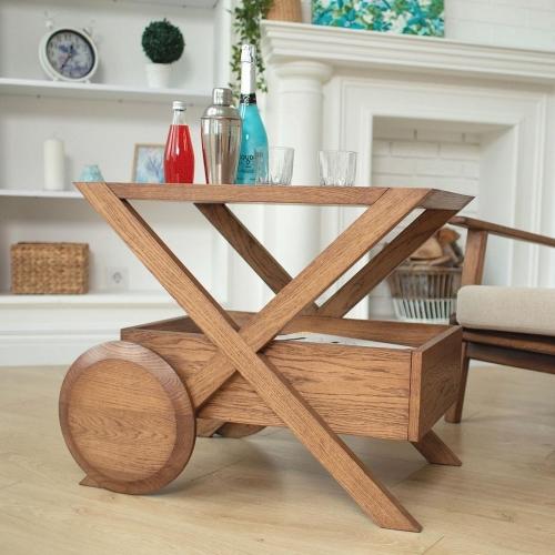 Кофейный столик  из массива 1052