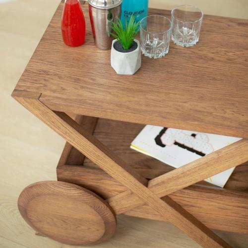 Кофейный столик  из массива 1052-1