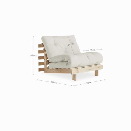 Диван Клевер (трансформер шезлонг, кровать) -5