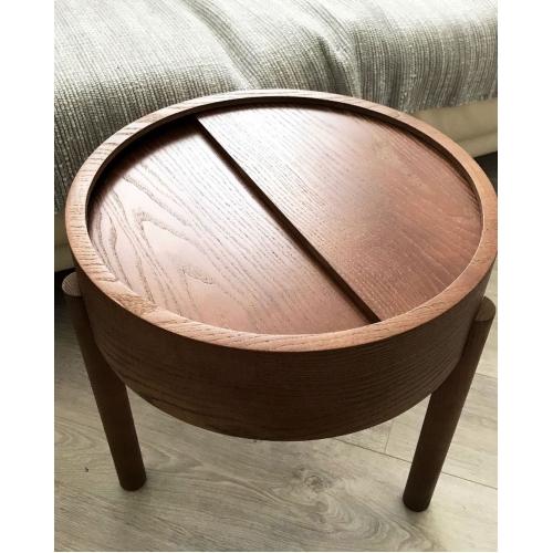 Кофейный столик   из массива дуба и фанеры-2