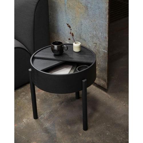 Кофейный столик  из массива дуба и фанеры-3