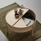 Кофейный столик из массива дуба (1045)