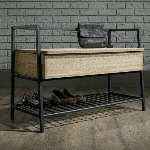 Скамья в прихожую с полкой для обуви (1026)